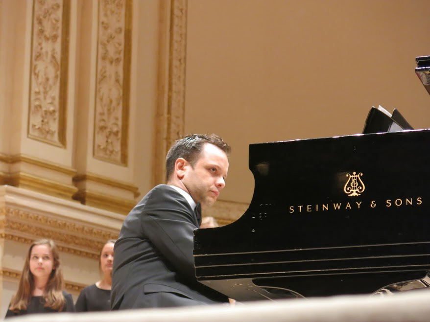 Fábio Bezuti at Stern Auditorium, Carnegie Hall, April 26, 2014.